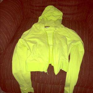 Summer half over spring half zip hoodie